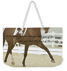 Half Pass Quote Weekender Tote Bag