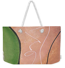 Half Pear Still Life Abstract Art By Saribelleinspirationalart Weekender Tote Bag