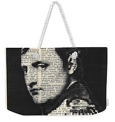 halftone Napoleon  Weekender Tote Bag