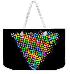Halftone Triangle  Weekender Tote Bag