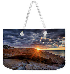 Halibut Pt Cloud Break Weekender Tote Bag