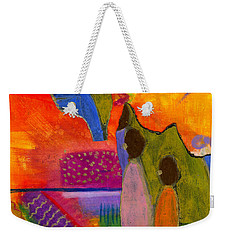Hallelujah Praise Weekender Tote Bag by Angela L Walker