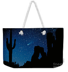 Halley's Comet Weekender Tote Bag