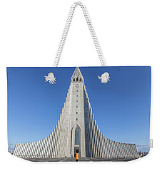 Hallgrimskirka Weekender Tote Bag by Wade Courtney