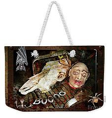 Hallo Boooo Weekender Tote Bag