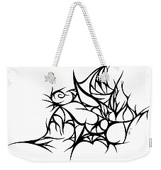 Hallow Web Weekender Tote Bag