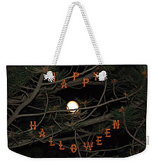 Halloween Card Weekender Tote Bag by Aimee L Maher Photography and Art Visit ALMGallerydotcom