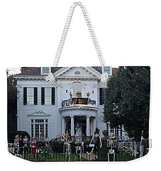 Halloween Decor New Orleans Style Weekender Tote Bag