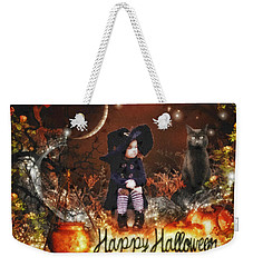 Halloween Girl Weekender Tote Bag