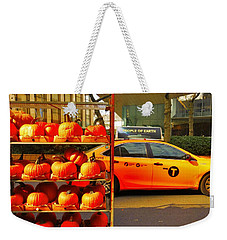 Halloween In New York  Weekender Tote Bag by Funkpix Photo Hunter