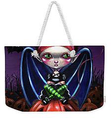 Halloween Little Devil Weekender Tote Bag