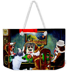 Halloween Poker Weekender Tote Bag