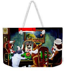Halloween Poker Weekender Tote Bag