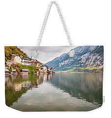 Weekender Tote Bag featuring the photograph Hallstat by Geoff Smith