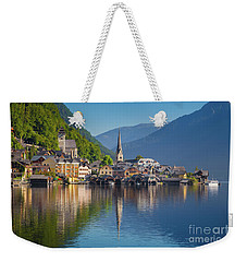 Hallstatt Reflections Weekender Tote Bag by JR Photography