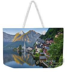 Hallstatt Sunrise Weekender Tote Bag