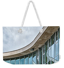 Weekender Tote Bag featuring the photograph Halmstad University Labrary Detail by Antony McAulay