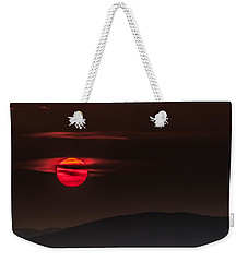 Haloed Sunset Weekender Tote Bag by Tim Kirchoff