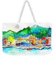 Halycon Days At The Blue Water Weekender Tote Bag