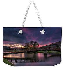 Hamlin Lake Sunset Weekender Tote Bag