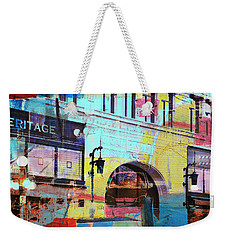 Weekender Tote Bag featuring the photograph Hamm Building St. Paul by Susan Stone