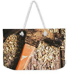 Hammer Details In Carpentry Weekender Tote Bag