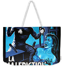 Hammer Movie Poster The Mummy La Malediction Des Pharaons Weekender Tote Bag by R Muirhead Art