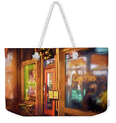 Hampden Cafe Weekender Tote Bag