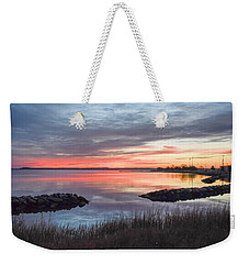 Hampton Sunrise Weekender Tote Bag