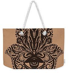 Hamsa Hand Weekender Tote Bag