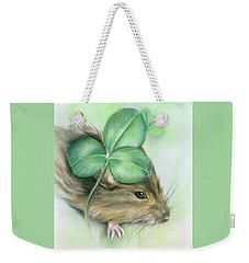 Hamster In The Clover Weekender Tote Bag