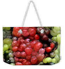 Weekender Tote Bag featuring the photograph Han Solo In Grapes by Paul Van Scott