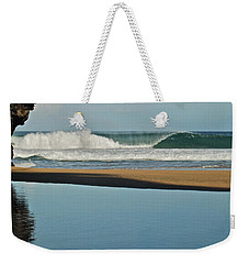 Hanakapiai Beach 1287b Weekender Tote Bag by Michael Peychich