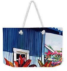 Hanapepe Town Weekender Tote Bag by Marionette Taboniar