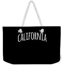 Hand California Weekender Tote Bag