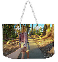 Hand In Hand Sequoia Hiking Weekender Tote Bag