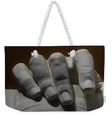 Hand Of Lincoln Weekender Tote Bag