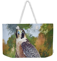 Weekender Tote Bag featuring the photograph Hand Of The Falconer by Nikolyn McDonald