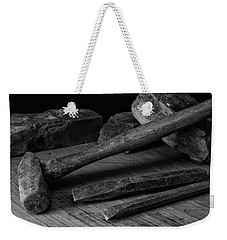 Weekender Tote Bag featuring the photograph Hand Tools 4 by Richard Rizzo