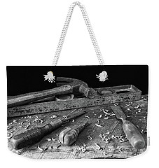 Weekender Tote Bag featuring the photograph Hand Tools 2 by Richard Rizzo