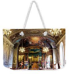 Handel's Organ Weekender Tote Bag by Judi Saunders