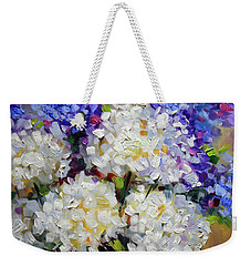 Handful Of White Weekender Tote Bag