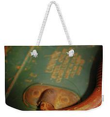 Handle On The Past Weekender Tote Bag