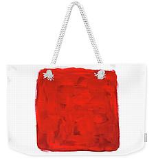 Handmade Vibrant Abstract Oil Painting Weekender Tote Bag