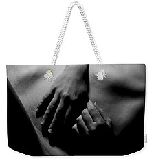 Hands At Rest Weekender Tote Bag by Joe Kozlowski