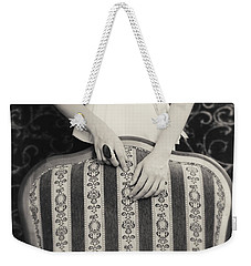Weekender Tote Bag featuring the photograph Hands #2203 by Andrey  Godyaykin
