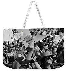 Hands Off Weekender Tote Bag