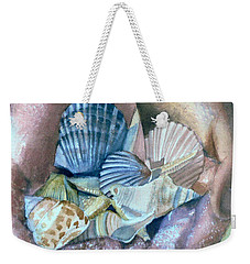 Hands With Shells Weekender Tote Bag
