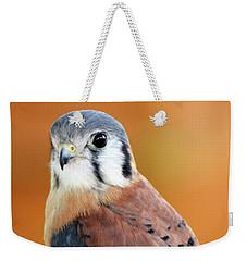 Handsome American Kestrel Weekender Tote Bag