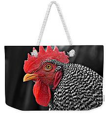Handsome Plymouth Rock Rooster Weekender Tote Bag